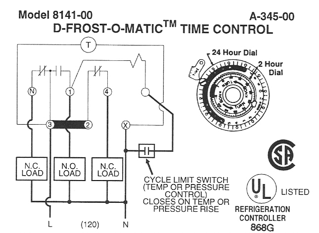 8141 00 defrost timer wiring schematic the knownledge