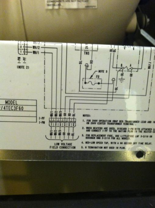 american standard thermostat wiring diagram wiring diagram janitrol heat pump thermostat wiring image about