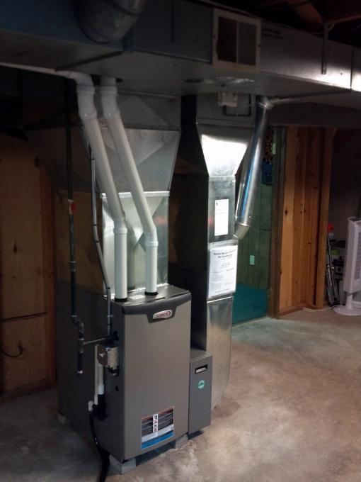 Furnace Installed This Weekend For A Friend