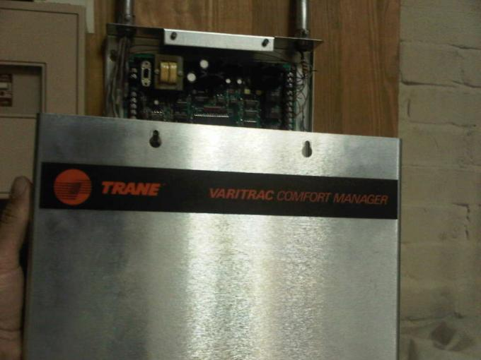 Trane Varitrac Comfort Manager manual