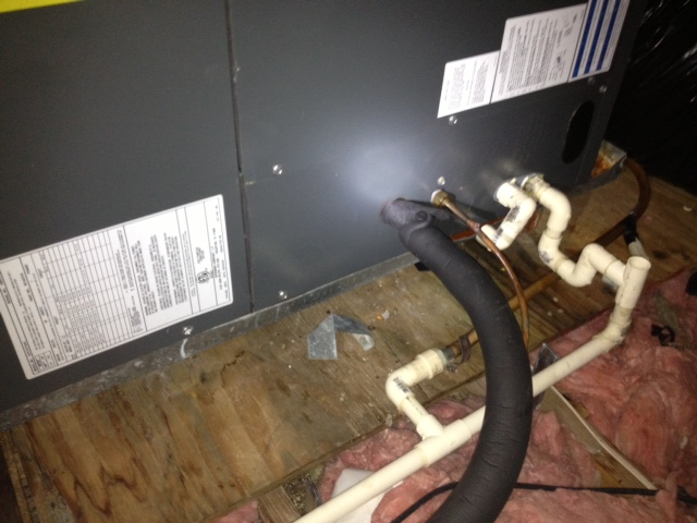 Air Handler In Attic Leaking