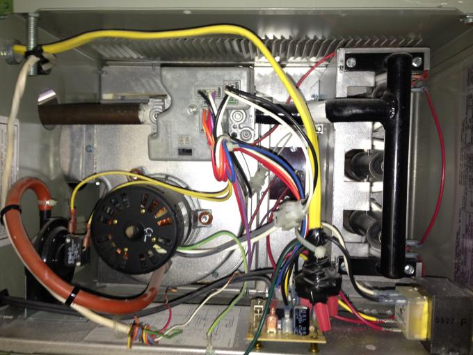 Modine hot dawg 45k garage heater ng cycling exhaust fan with attached images sciox Image collections