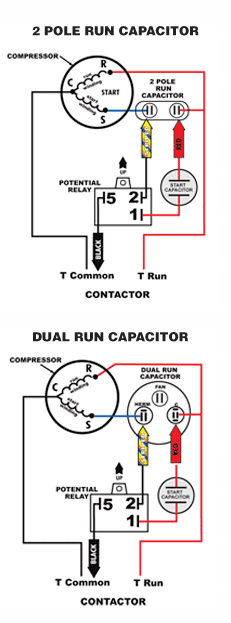 Dual Capacitor With Hard Start Wiring Schematic - Schematic For Wiring A  Dimmer Switch - pipiing.engineswire.genericocialis.it | Hvac Hard Start Capacitor Wiring Diagrams |  | Wiring Diagram Resource