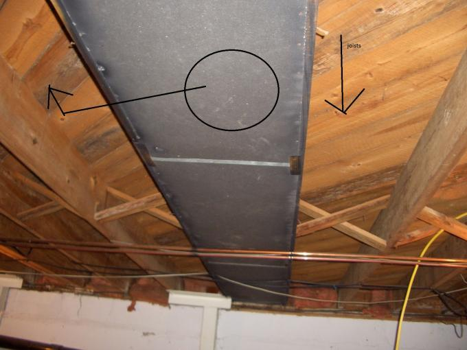 Moving Return Air Vent Over Joist Possible