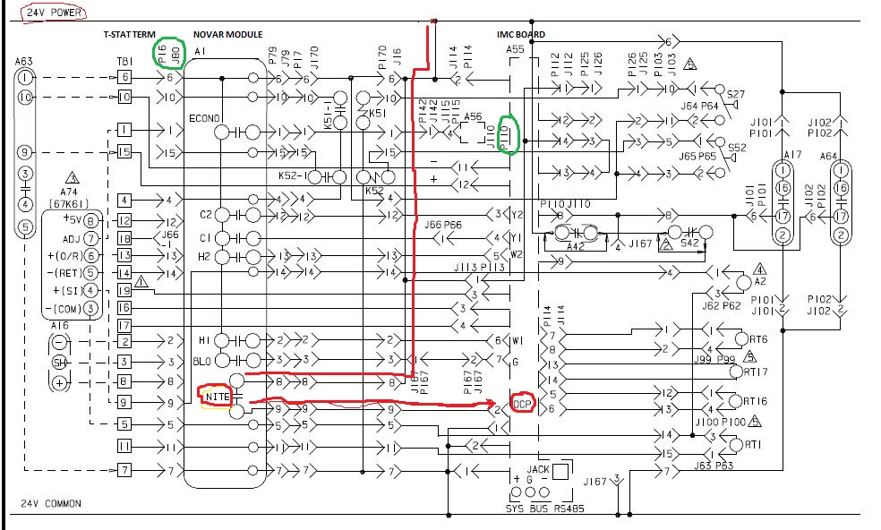 Trane Economizer Wiring Diagrams on wiring diagram for honeywell heat pump thermostat