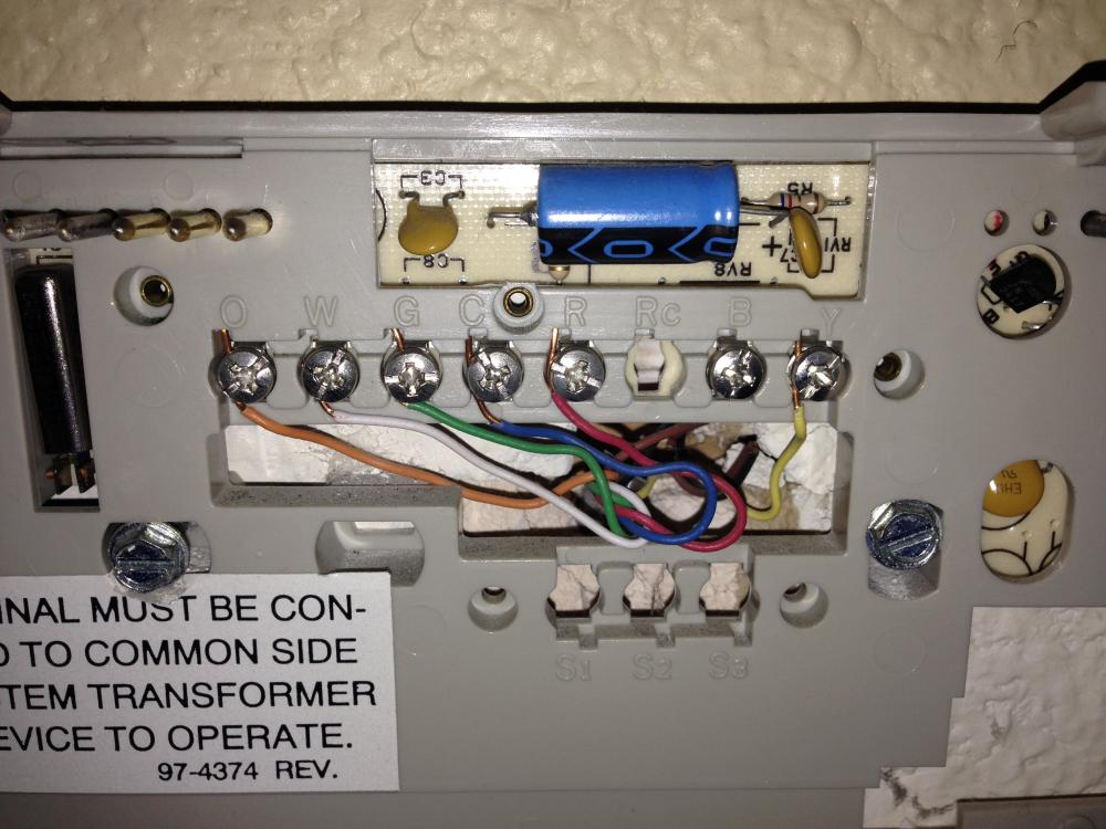 Upgrade From Honeywell Chronotherm Iii To Rth6580wf