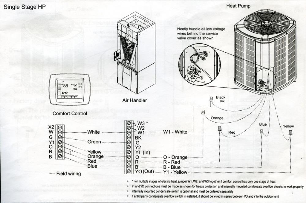trane weathertron thermostat wiring diagram solidfonts trane wiring diagram solidfonts