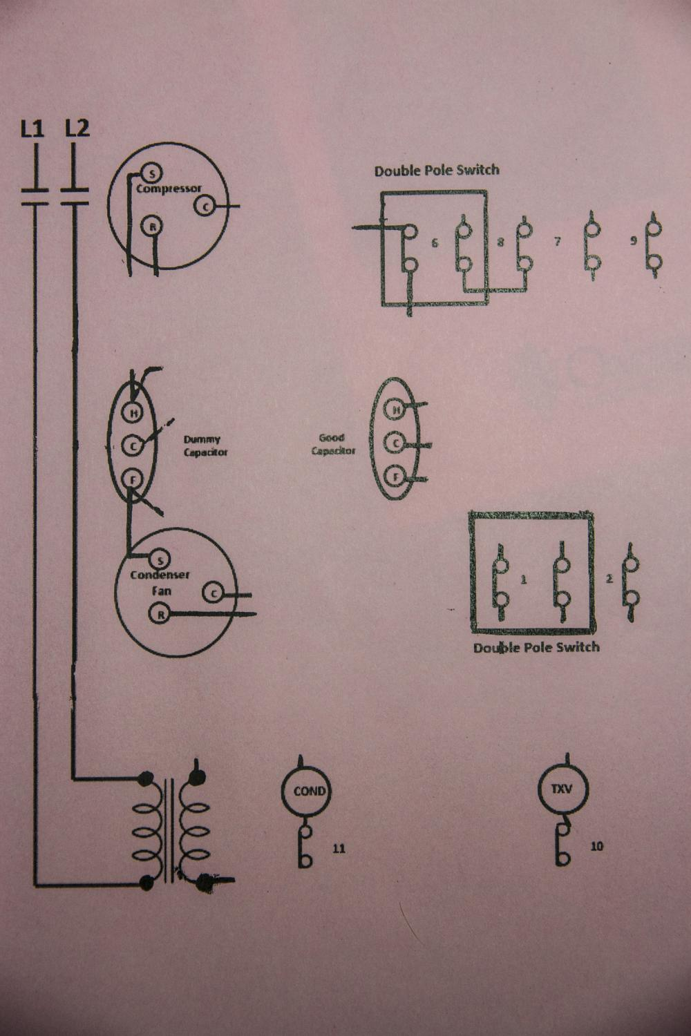 Student Needs Help Ladder Schematic Diagram Ac Unit Wiring Attached Images