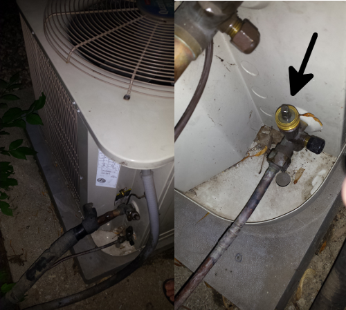 Ac Unit Prices >> Leaking king valve after repairing other leak in AC unit