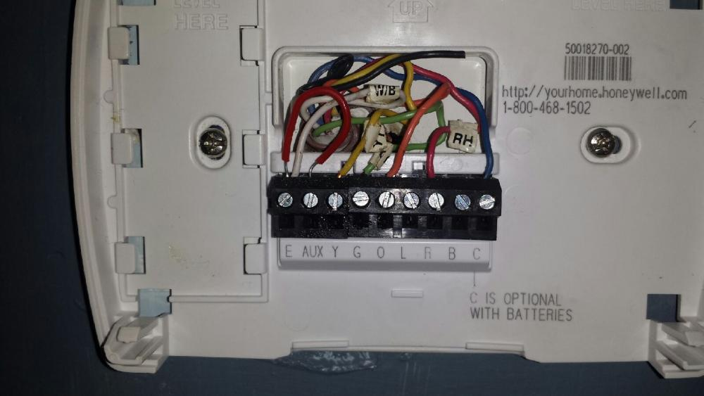Goodman Heat Pump Thermostat Wiring - Wire color code ac thermostat