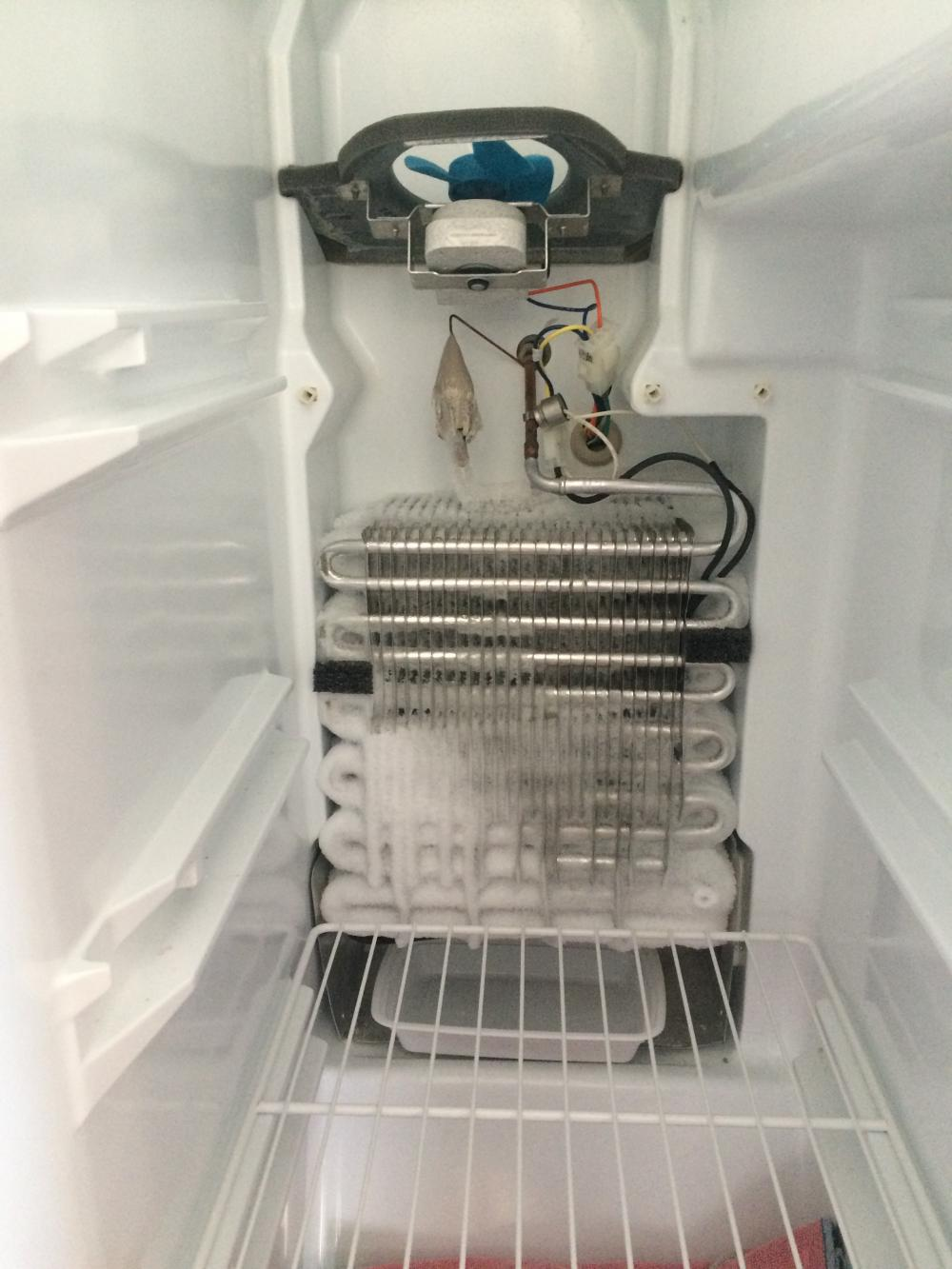 Refrigerator Freezer Coils Keep Freezing Up