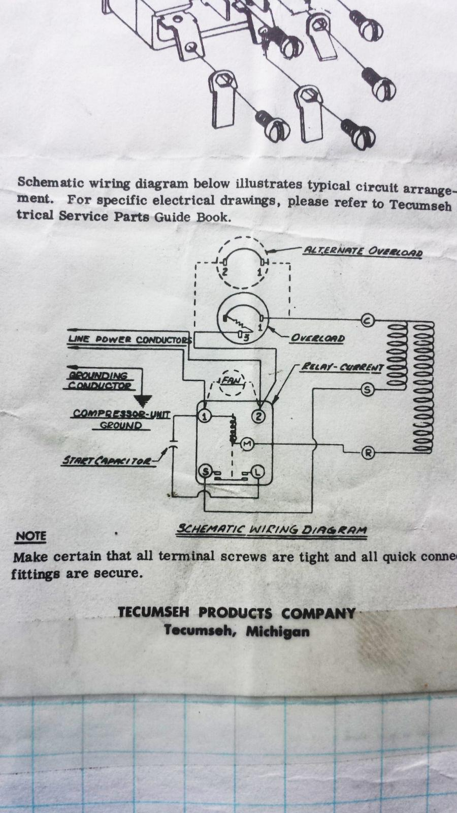 Ptc Issue True Wiring Diagrams Attached Images