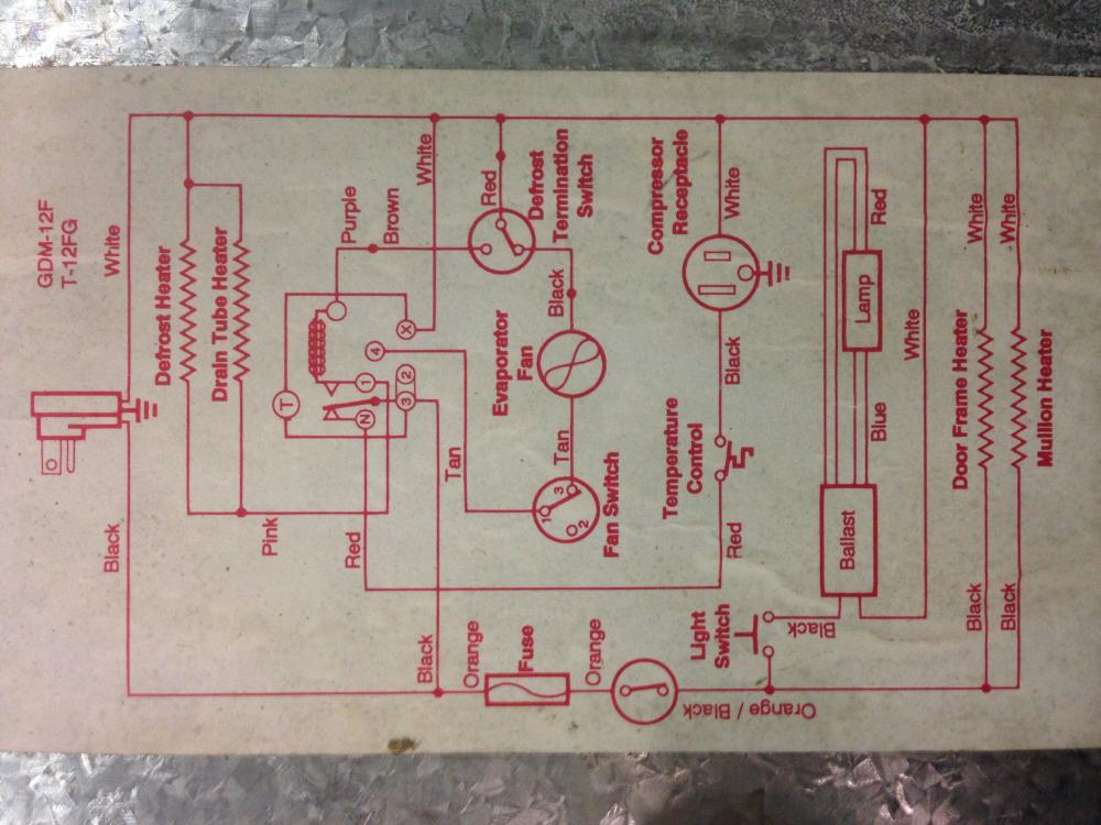 true refrigerator wiring diagram true wiring diagrams true gdm 12f wiring diagram