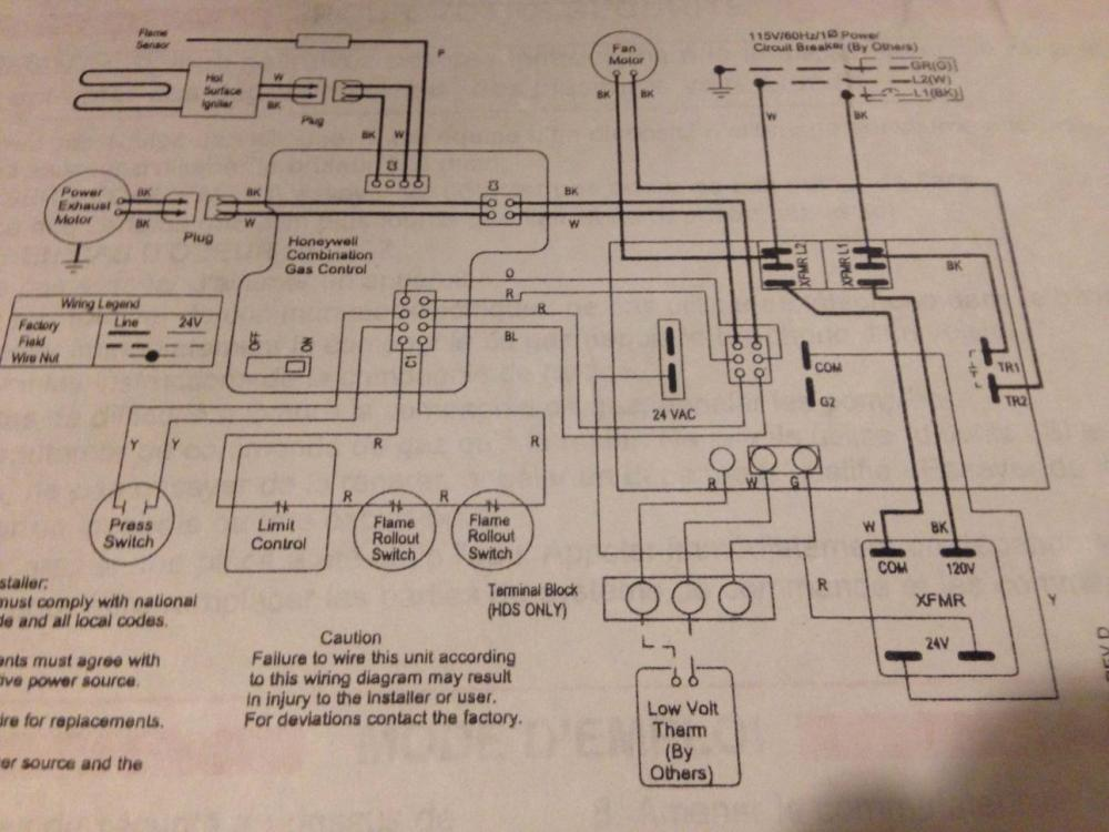 modine fan wiring diagram help swapping thermostat on my hot dawg