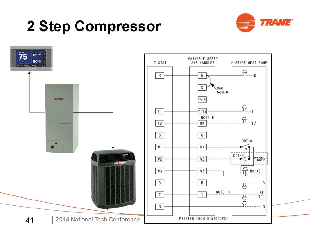 Trane Air Handler Diagram on trane heat pump wiring schematic