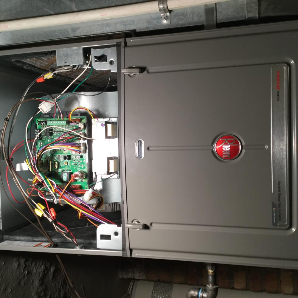 rheem ecm 3 0 variable speed furnace exactly how should it behave