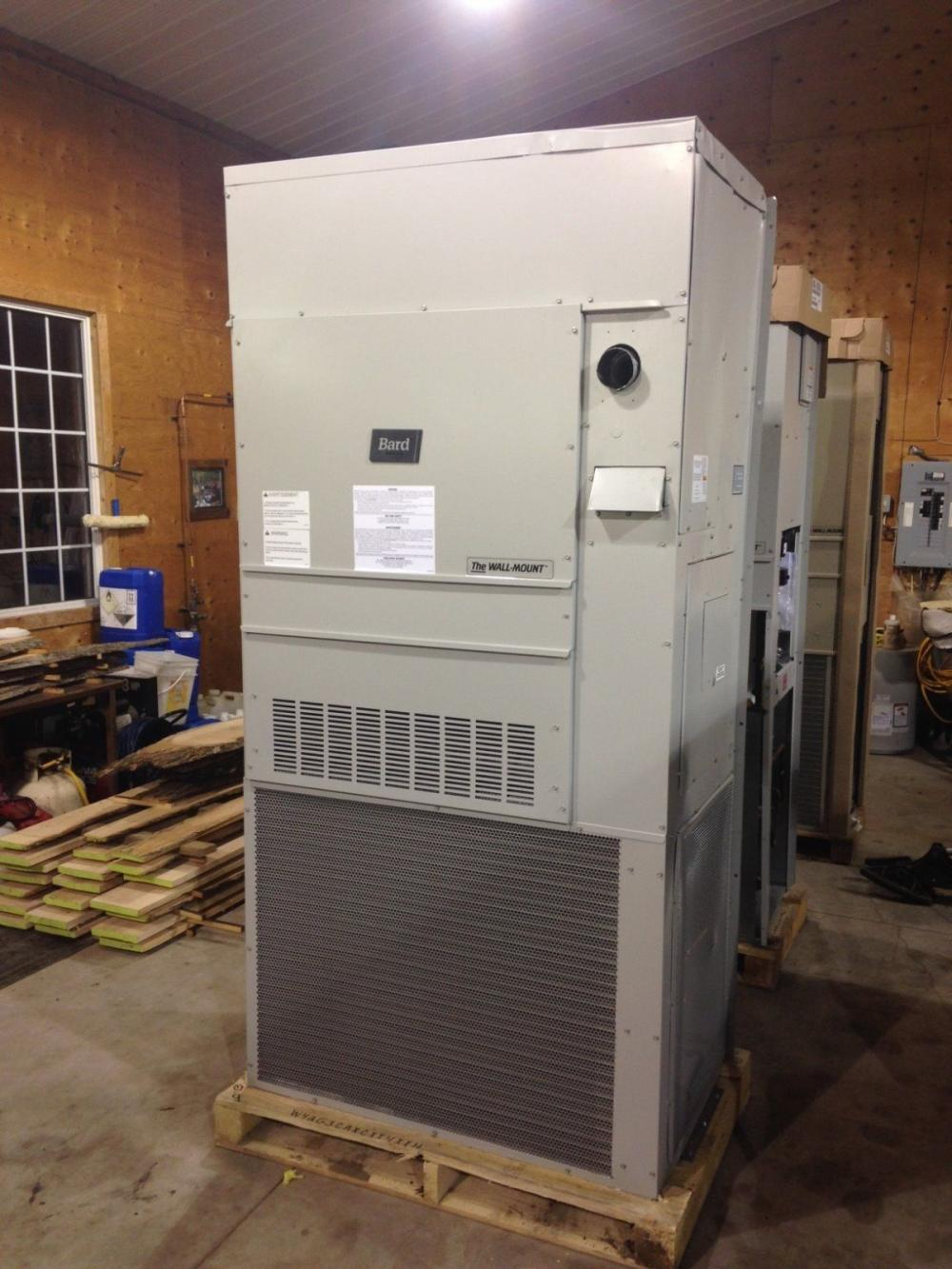 Bard Wall Mount Combo Furnace Air Conditioning Unit