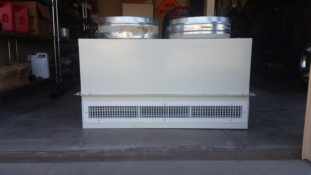 4 X4 Concentric Ceiling Diffuser Rooftop Unit Hvac Air