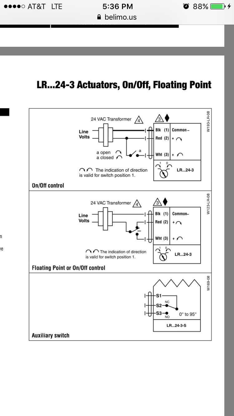 Belimo Actuator Wiring Diagram Tf Ventilation And Temperature Limitorque Actuators Diagrams Solidfonts Mx Nilza Net