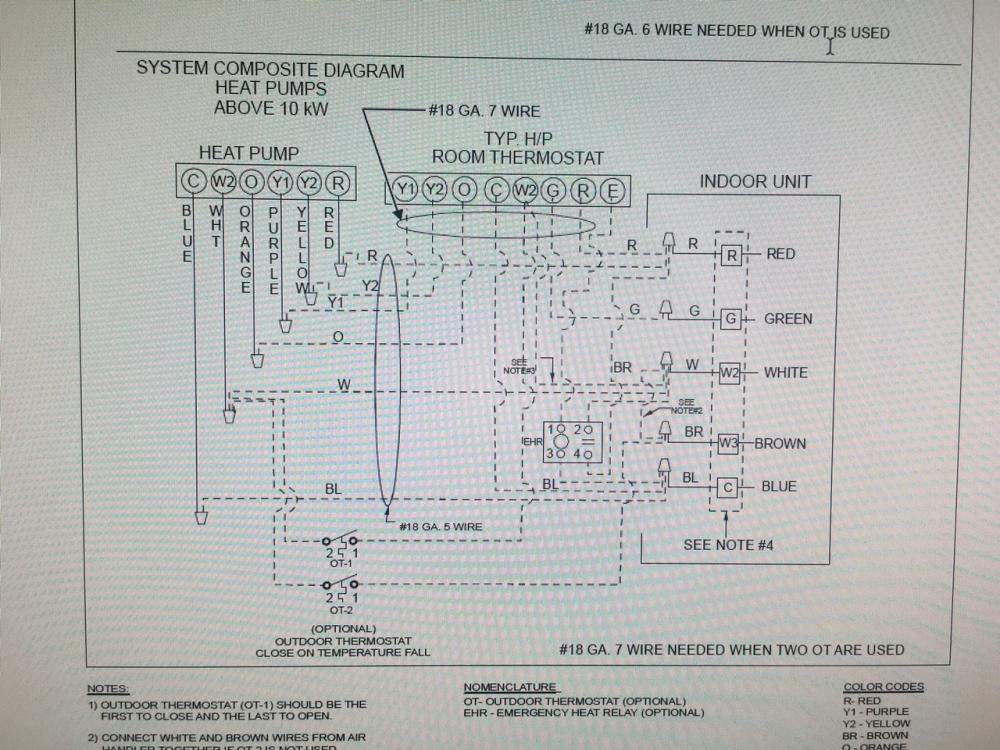 goodman condensing unit wiring diagram hvac talk heating  air   refrigeration discussion  hvac talk heating  air   refrigeration