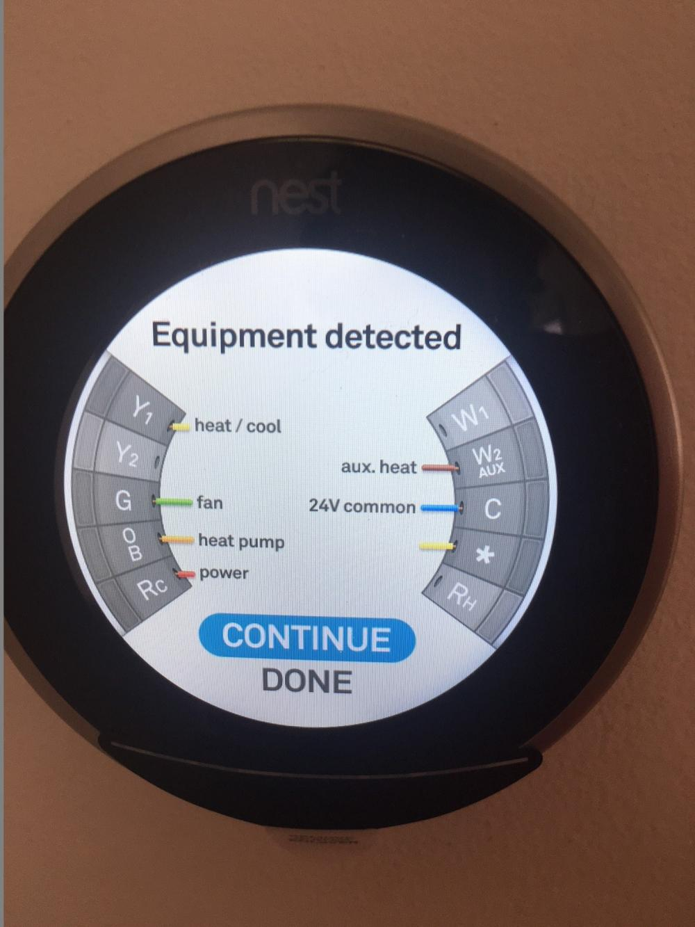 Goodman Heat Pump And Nest